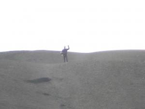 Moonwalking to the top
