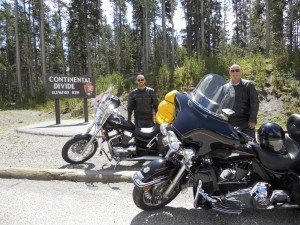 Passing through the Continental Divide!