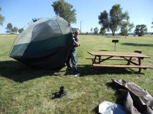 Bad tent... bad.