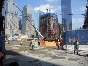 Ground Zero.  Working hard.