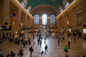 Grand Central Station. No Flashdance today...
