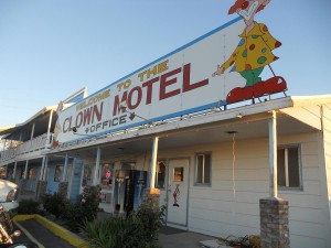 Clown Motel.  It was no laughing matter.