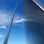 Gateway Arch - As close as you can get.